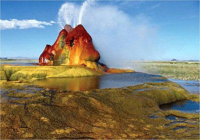 عجیب ترین آب گرم دنیا